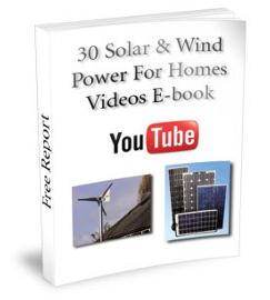 DIY Solar Homes Free E-book
