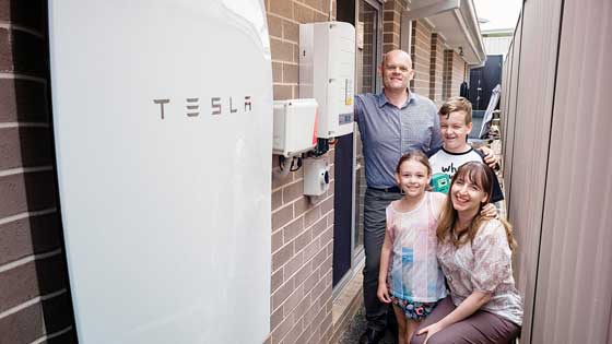 Tesla Wall Battery